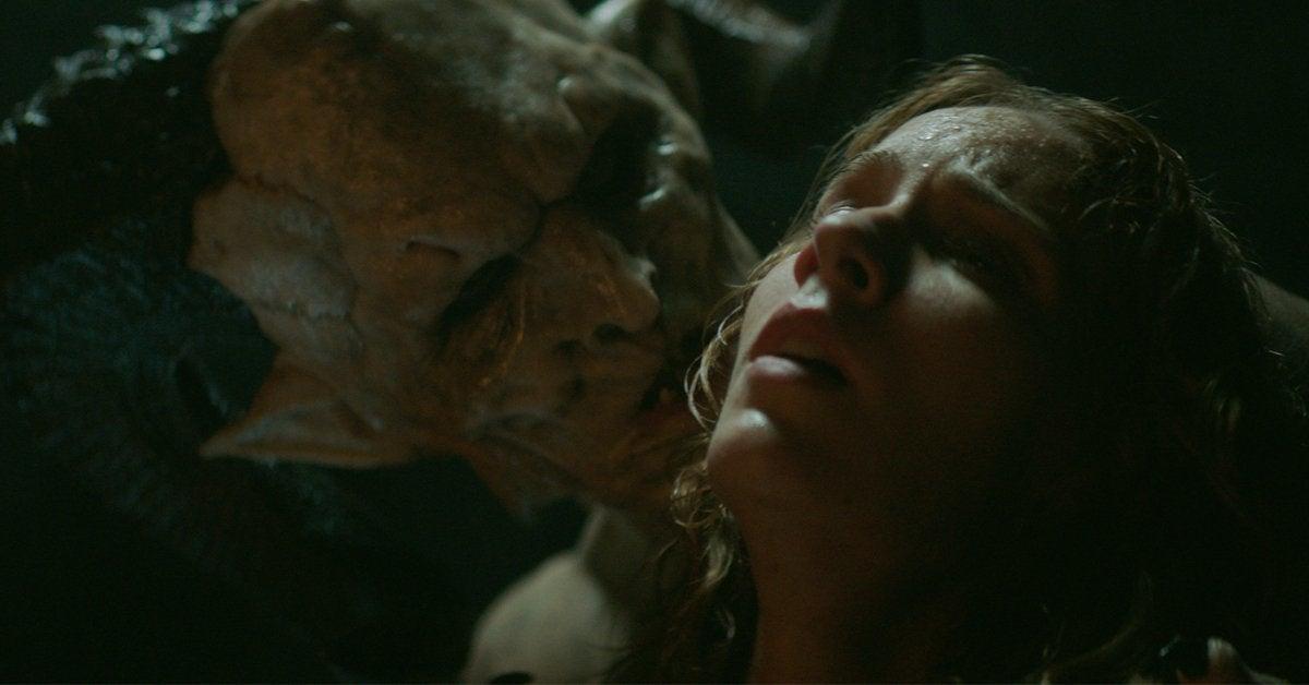 the reckoning movie horror monster