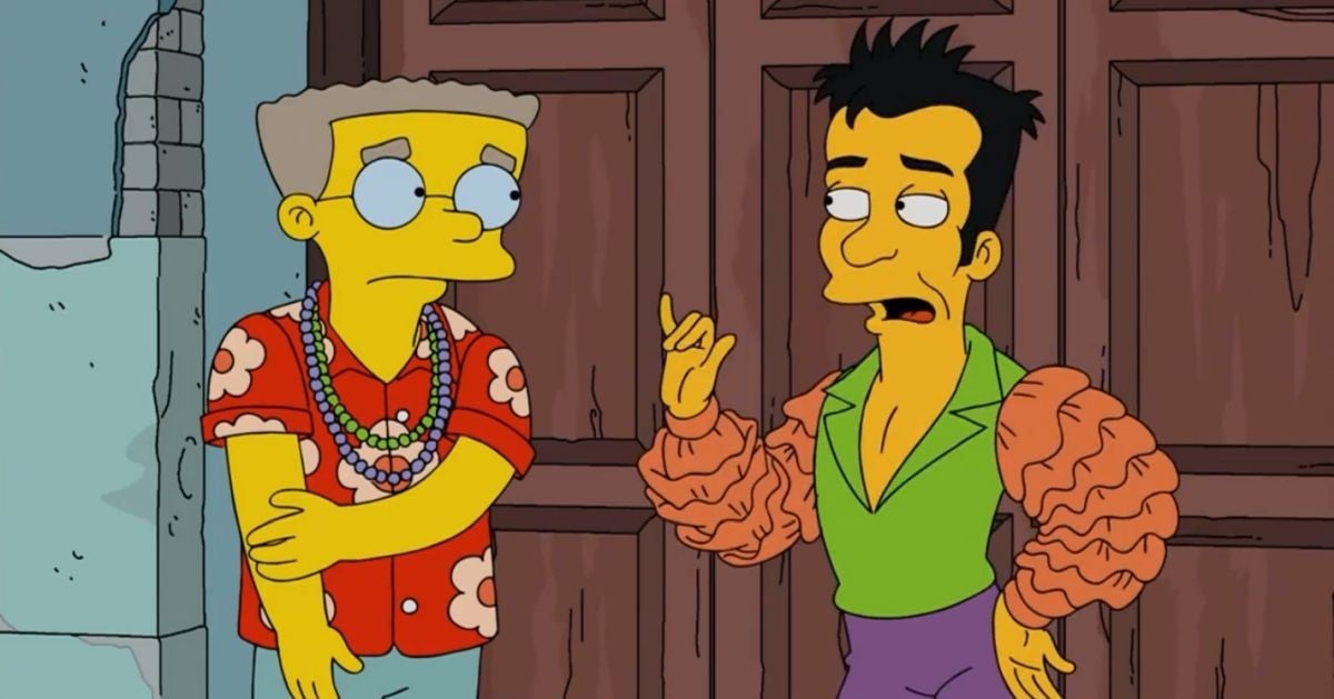 the simpsons gay character julio