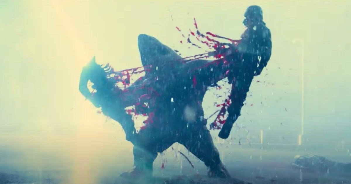 The Suicide Squad red band trailer King Shark