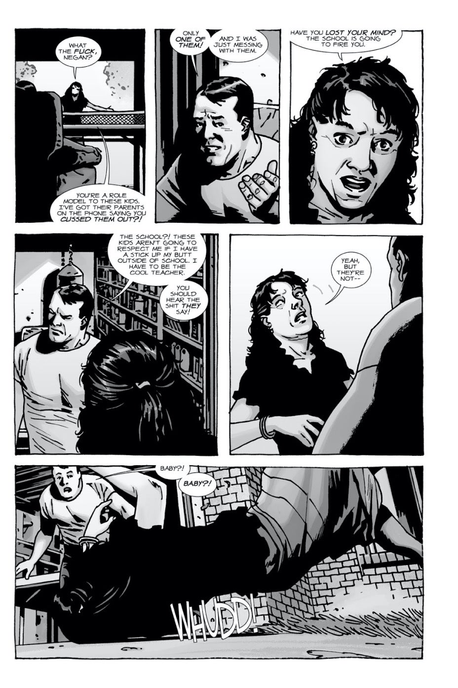 The Walking Dead comics Lucille
