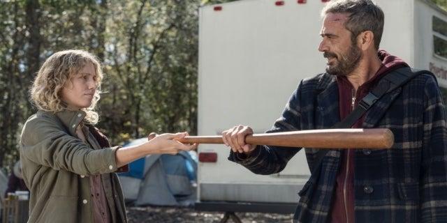 The Walking Dead Here's Negan Lucille bat Laura
