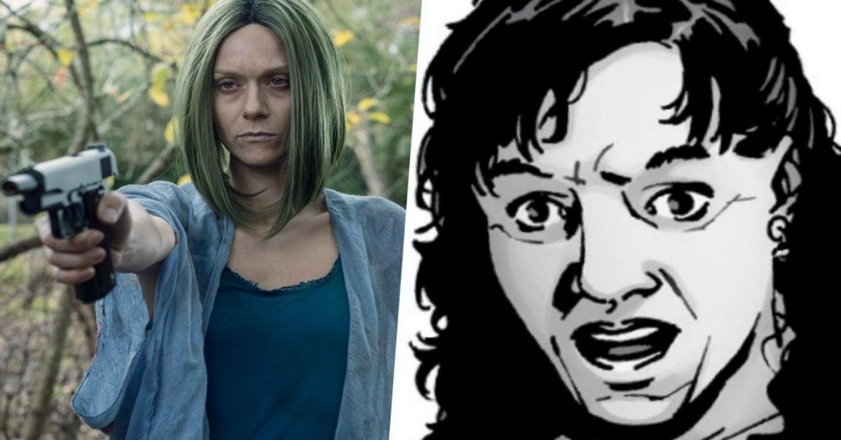 The Walking Dead Lucille comics Hilarie Burton Morgan Here's Negan