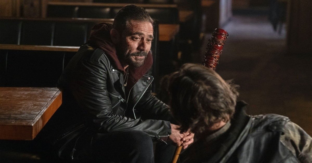 The Walking Dead Negan Jeffrey Dean Morgan