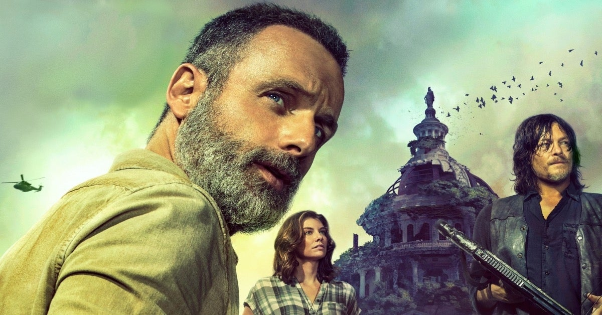 The Walking Dead Rick Grimes Andrew Lincoln