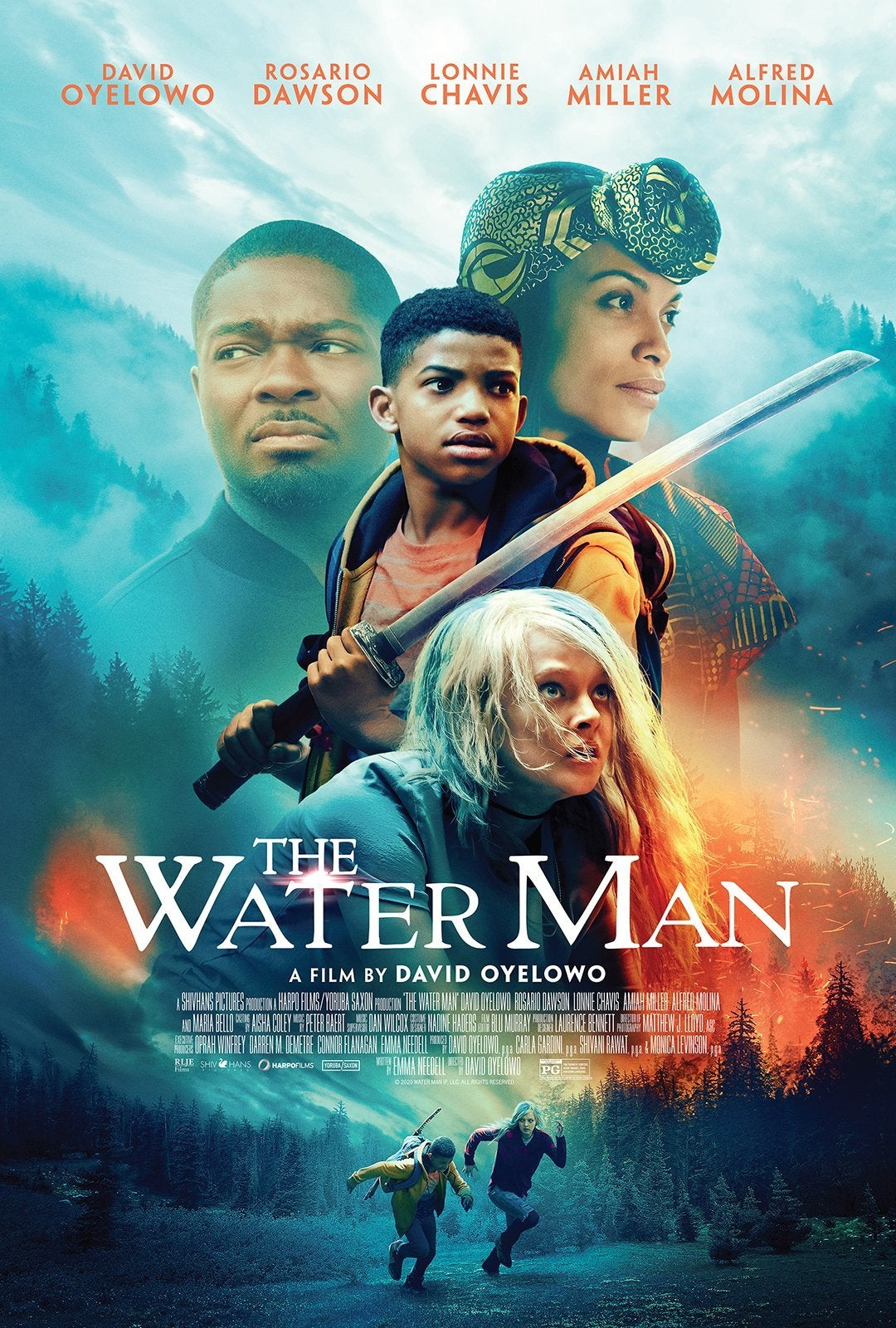 the water man movie poster