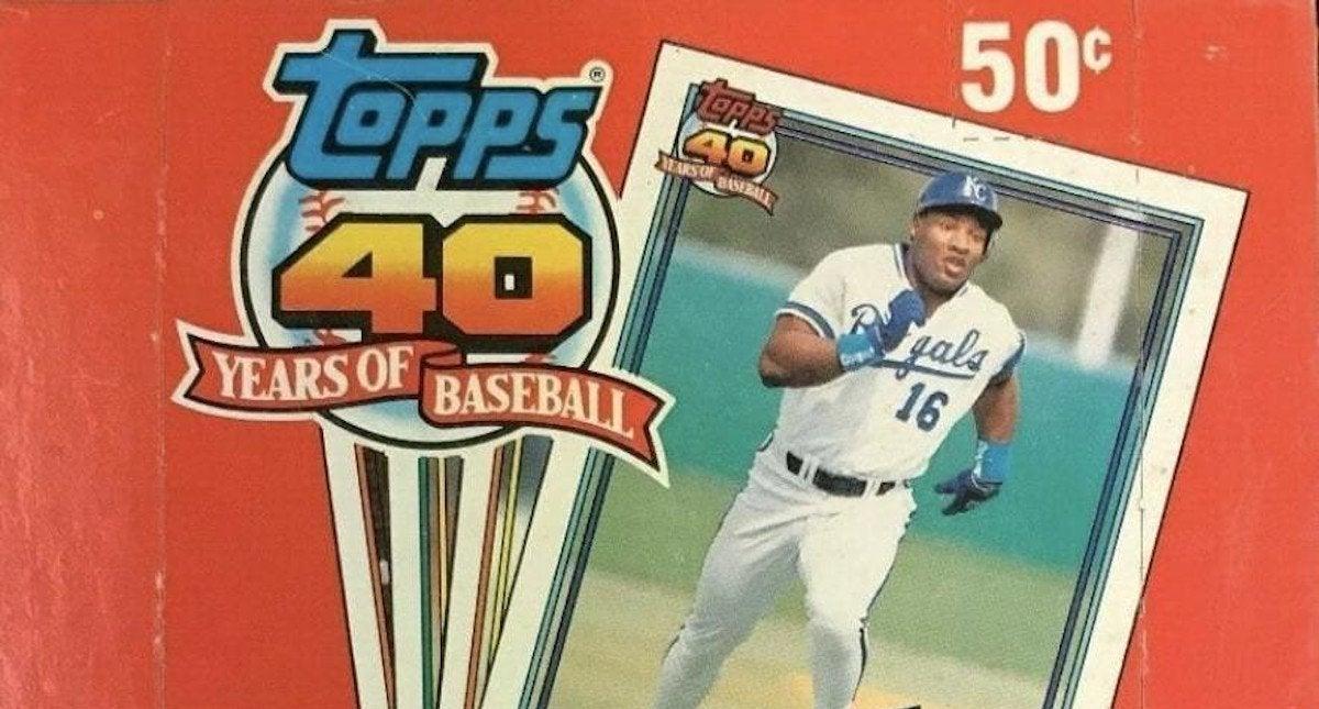 Unopened-Box-of-1991-Topps-Baseball-Cards