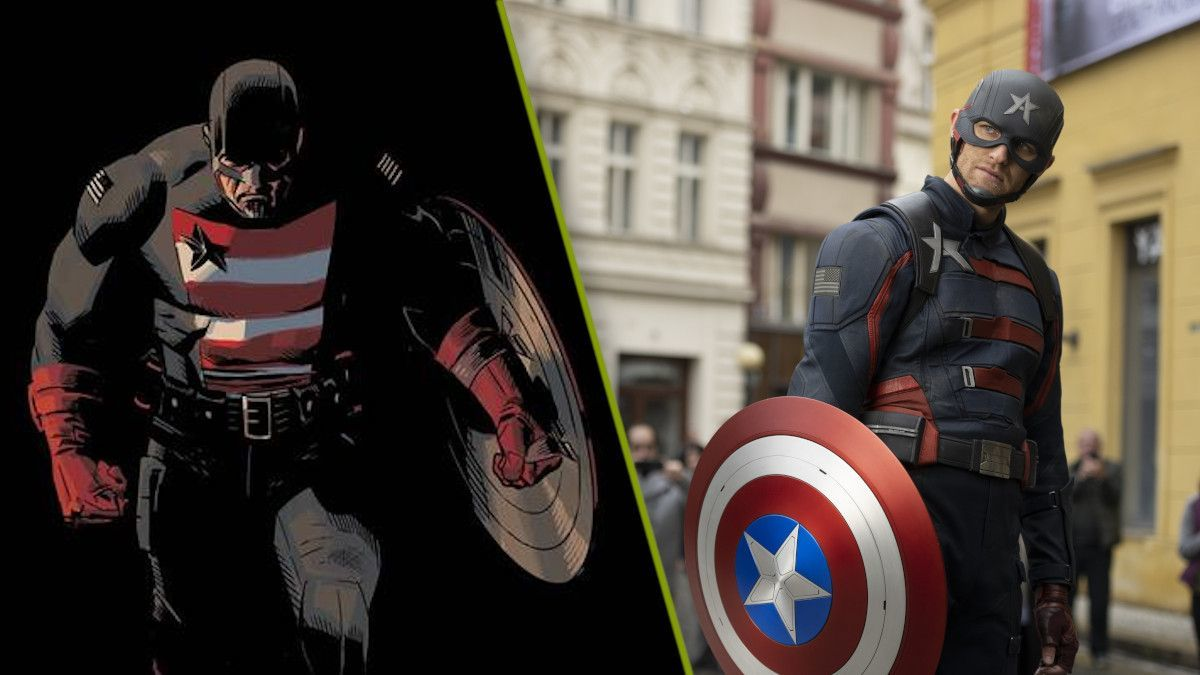 Us Agent Marvel Falcon Winter Soldier John Walker