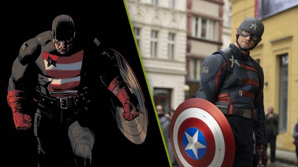 Us Agent Marvel Falcon Winter Soldier John Walker