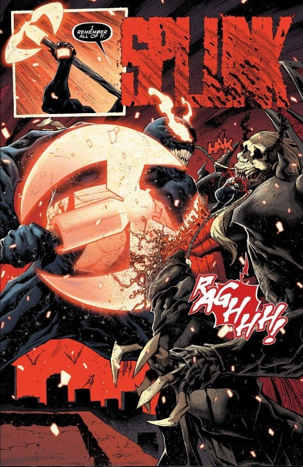 Venom Kills Knull With Light Ax King In Black Ending SPoilers