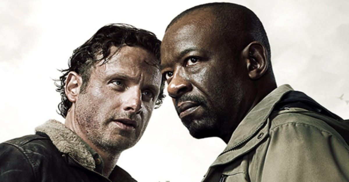 Walking Dead Rick Grimes Morgan Jones Andrew Lincoln Lennie James