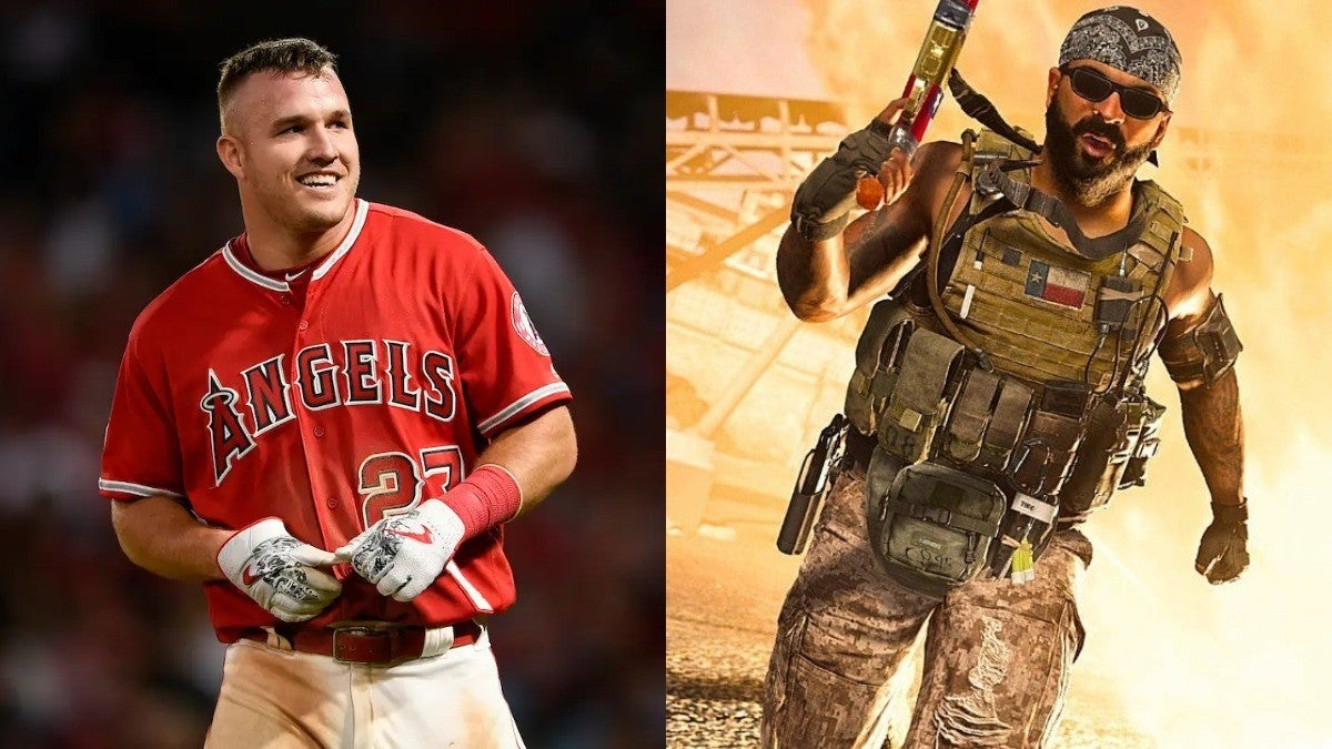Warzone Mike Trout