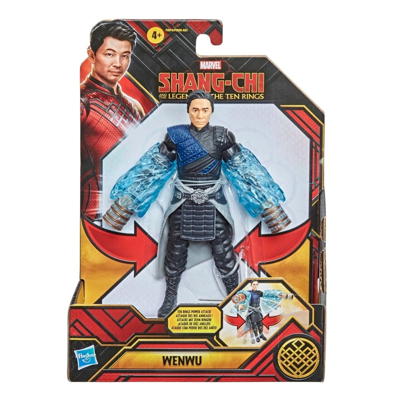 wenwu action figure ten rings powers