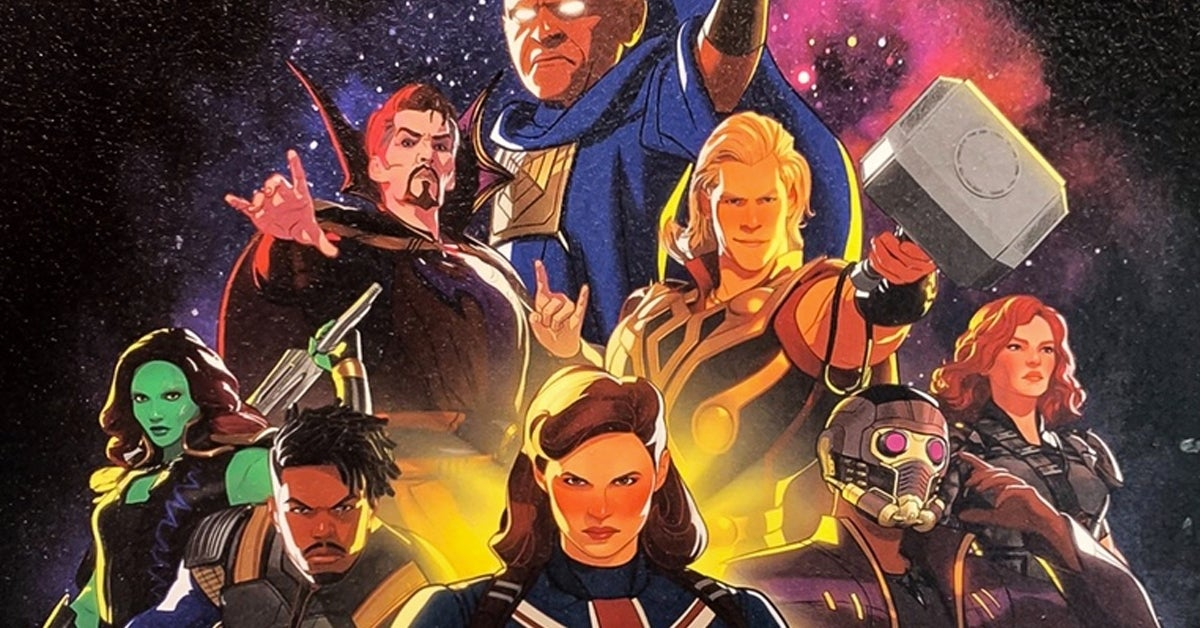 what if poster marvel