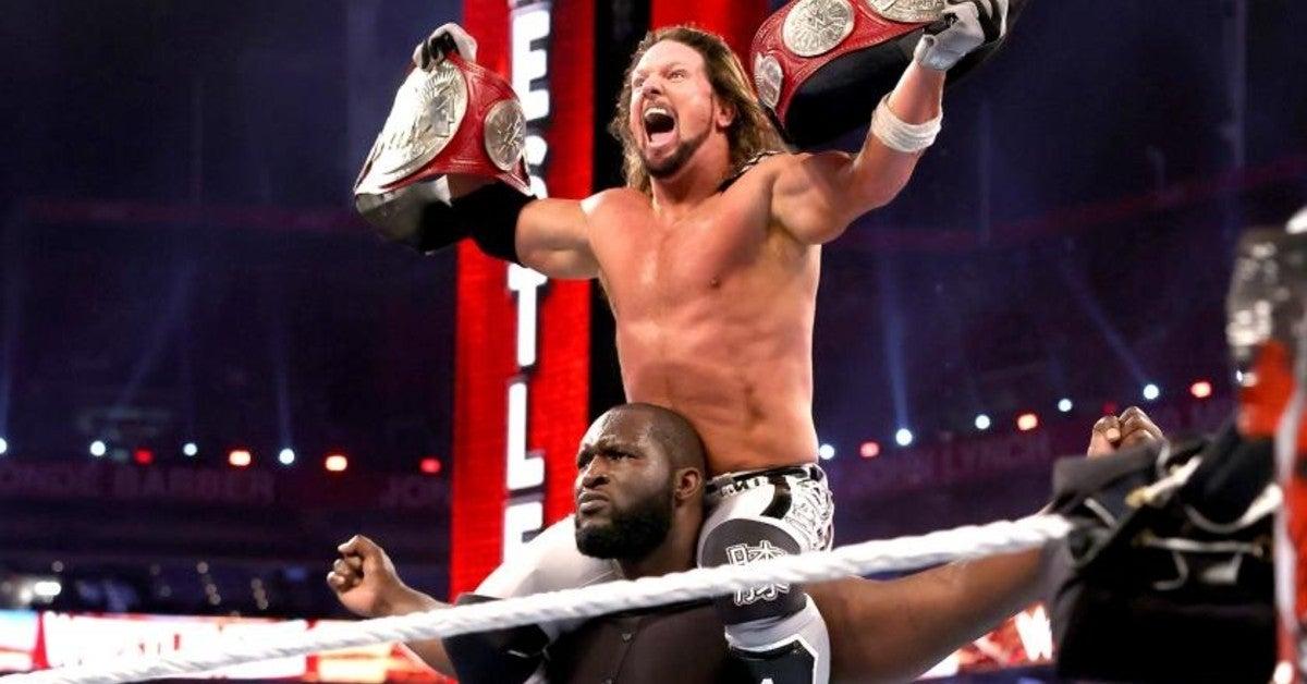 WWE-AJ-Styles-Omos-WrestleMania