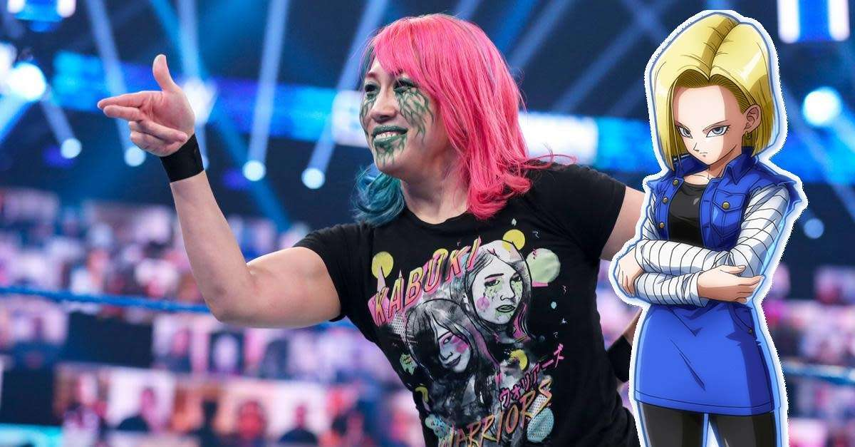 WWE Asuka DBZ