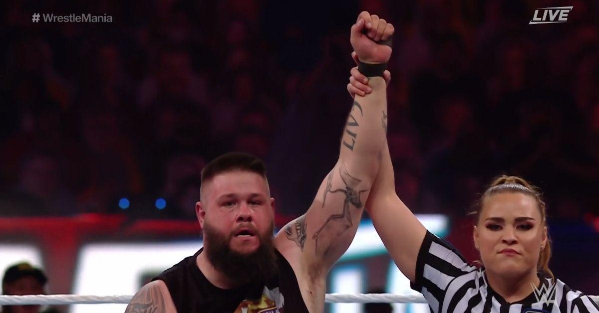 WWE Kevin Owens Sami Zayn WrestleMania