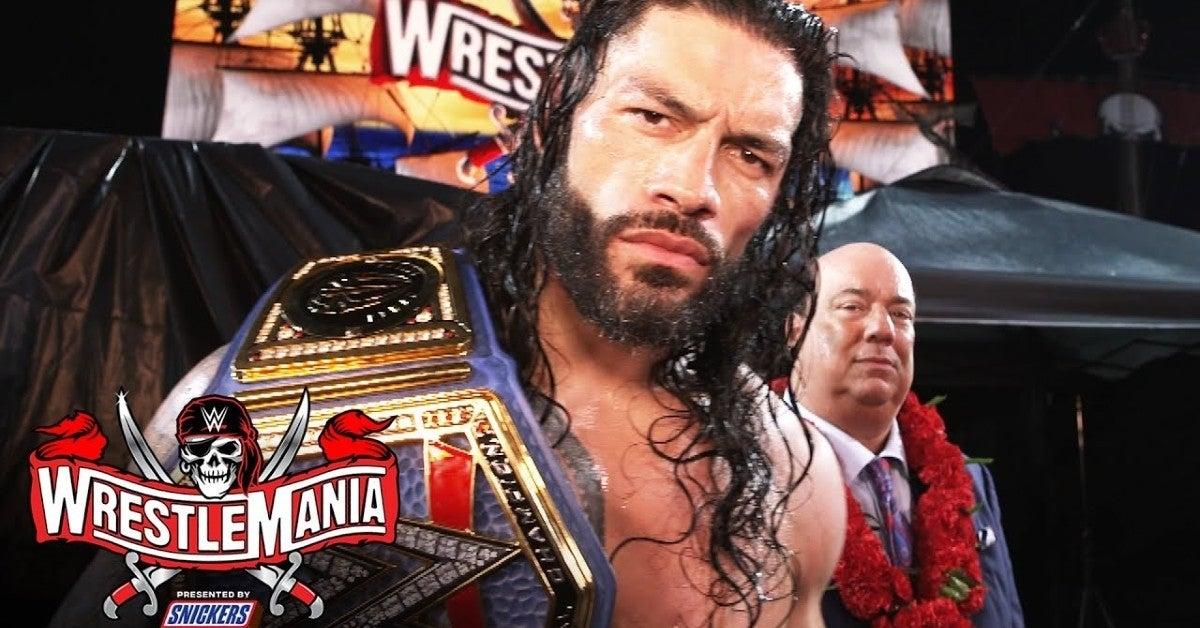 WWE-WrestleMania-37-Roman-Reigns-Retains