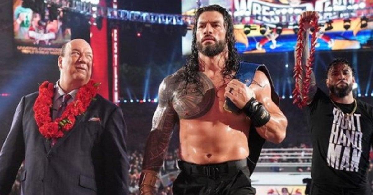 WWE-WrestleMania-37-Roman-Reigns-Victory