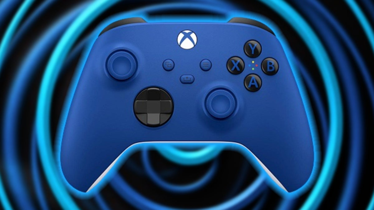 xbox series x controller blue