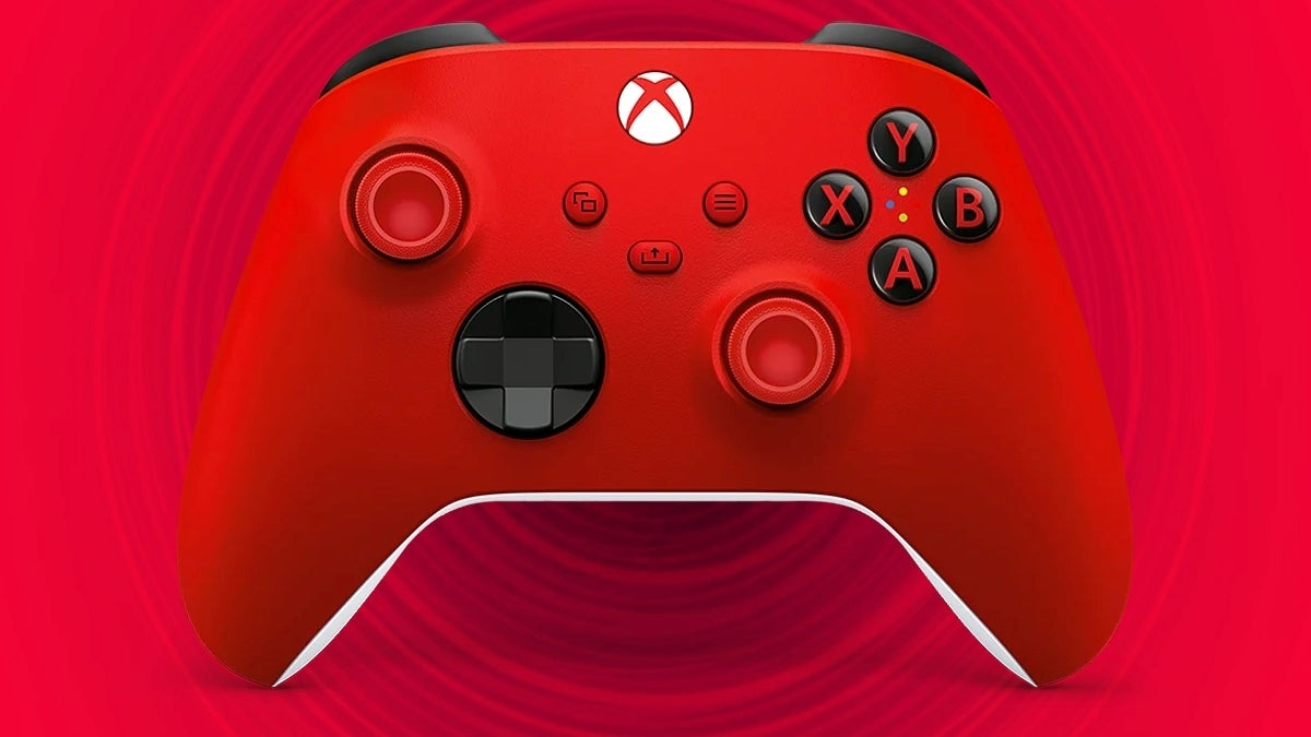xbox series x controller red