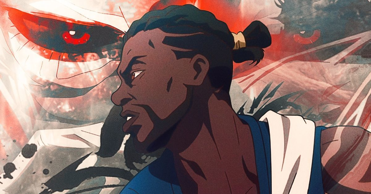 Yasuke Netflix Anime LaKeith Stanfield LeSean Thomas Poster
