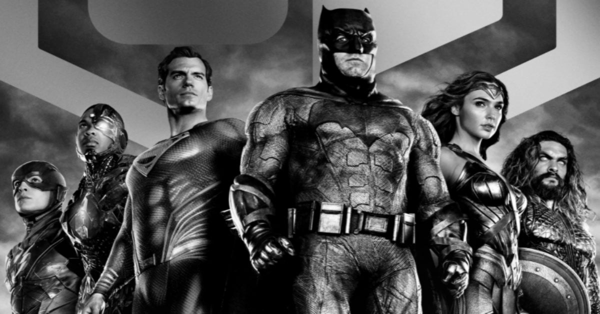 Zack Snyder's Justice League Justice Is Gray