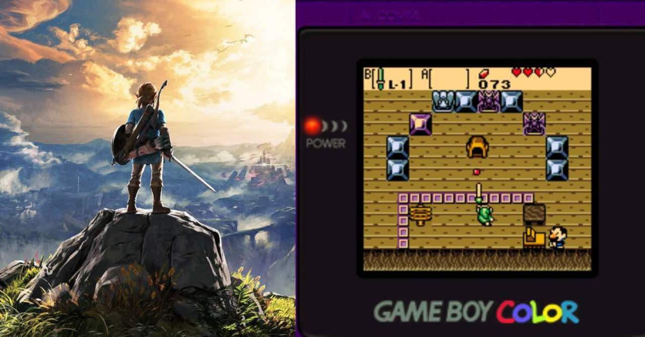 The Legend of Zelda: Breath of the Wild Has Been Recreated as a Nintendo Game Boy Color Game, The Gamers Dreams, thegamersdreams.com