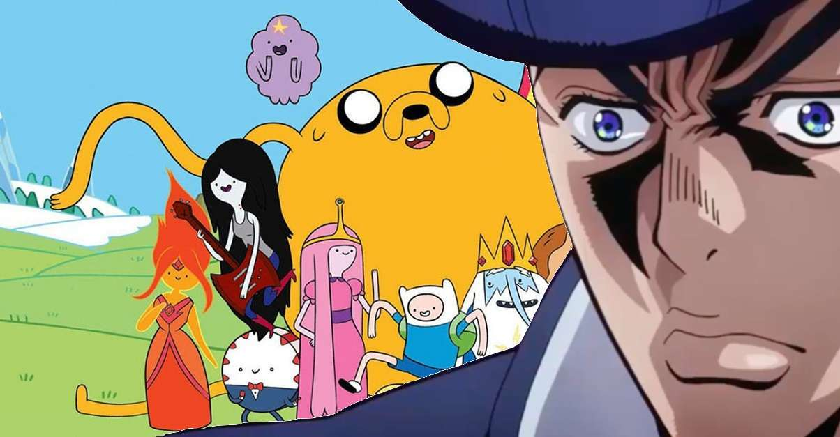 Adventure Time JoJo's Bizarre Adventure