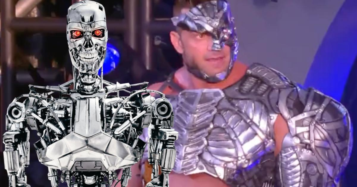AEW Double or Nothing Brian Cage Terminator Gear