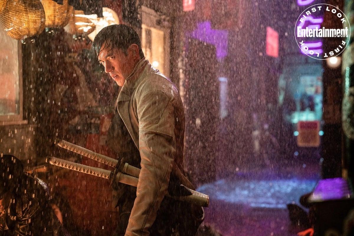 Andrew Koji as Storm Shadow in Snake Eye Movie