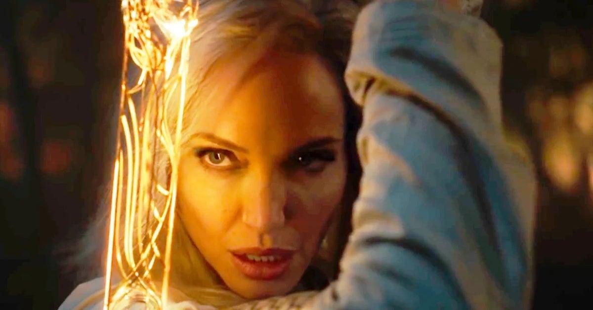 Angelina Jolie Has Seen Marvel Eternals Trailer