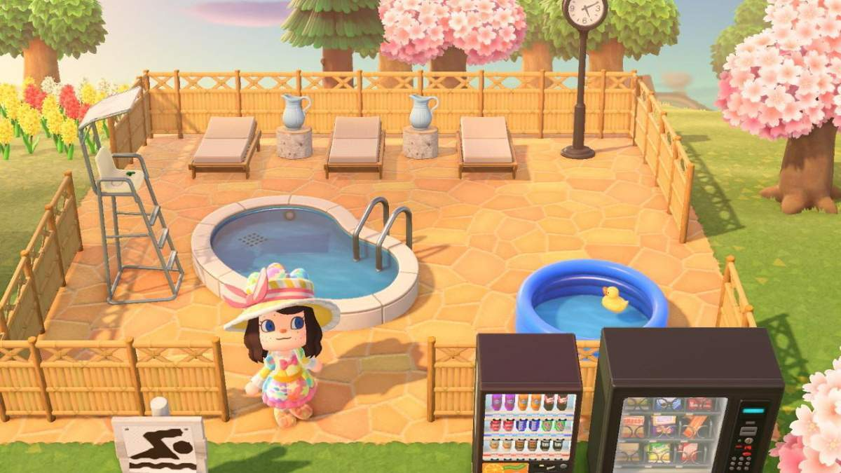 Animal Crossing Pool