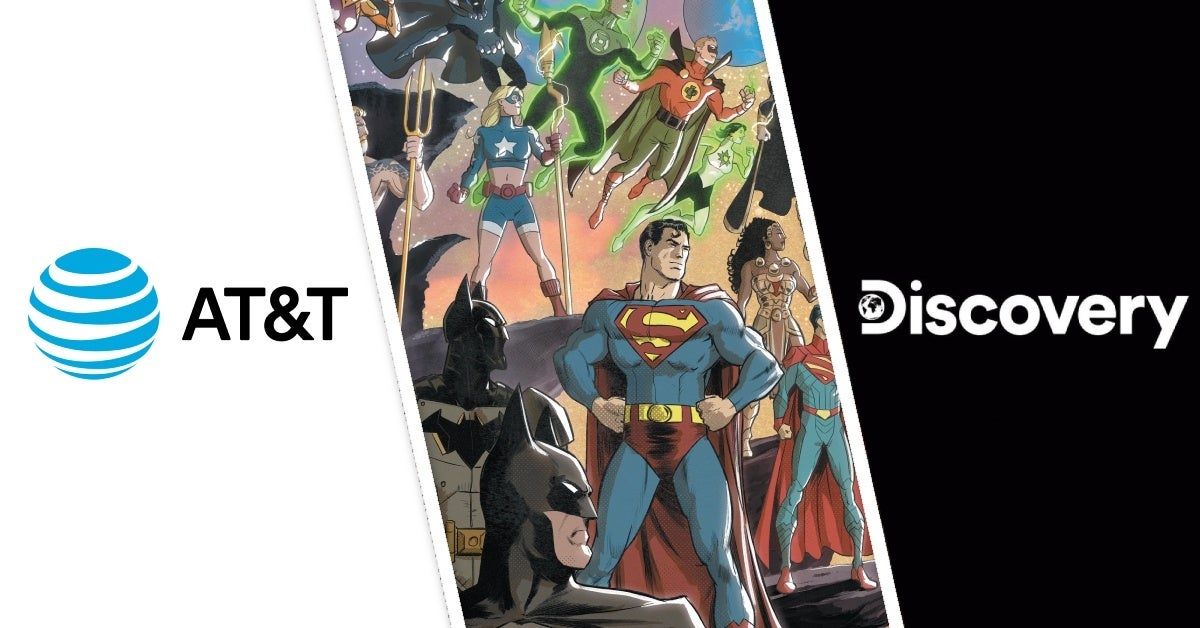 at&t discovery merger dc comics