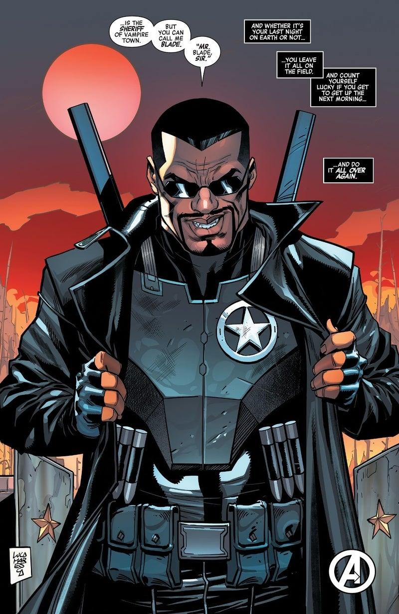 avengers 45 blade sheriff