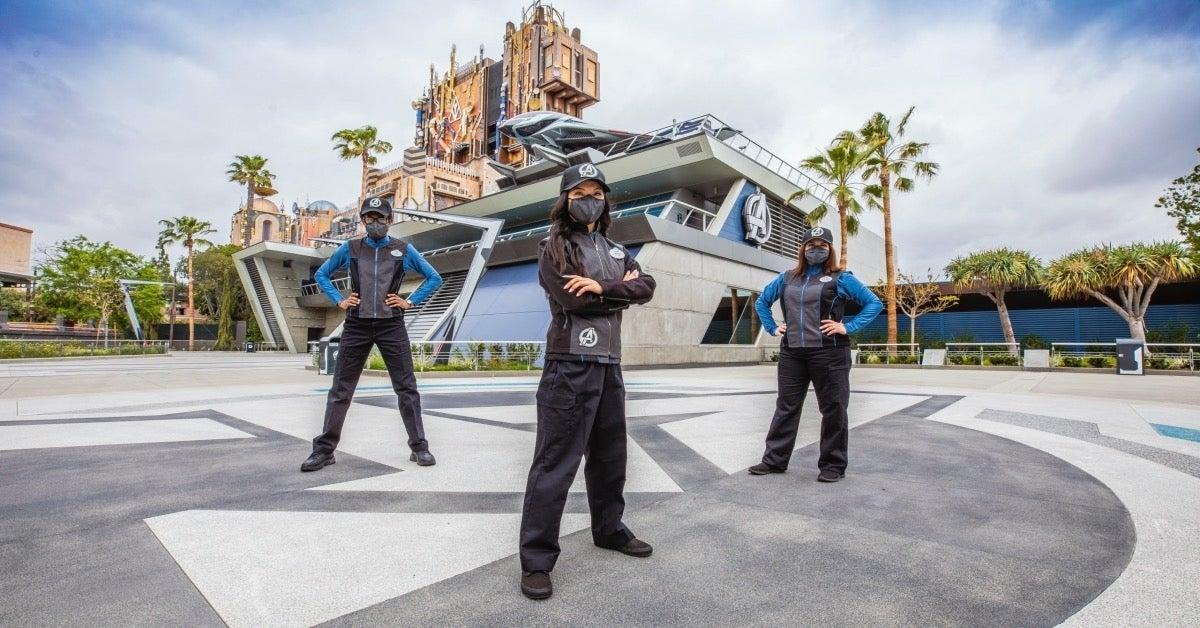 Avengers Campus cast costumes Disneyland Resort
