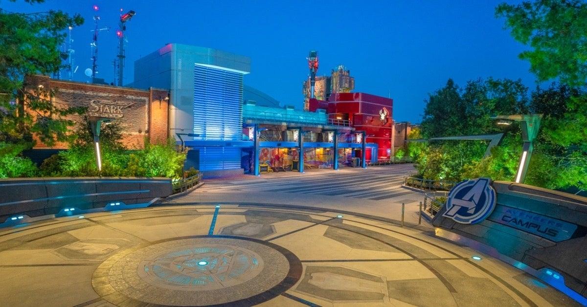 Avengers Campus Disneyland Resort Spider-Man