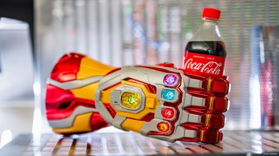 Avengers Campus Iron Man Infinity Gauntlet
