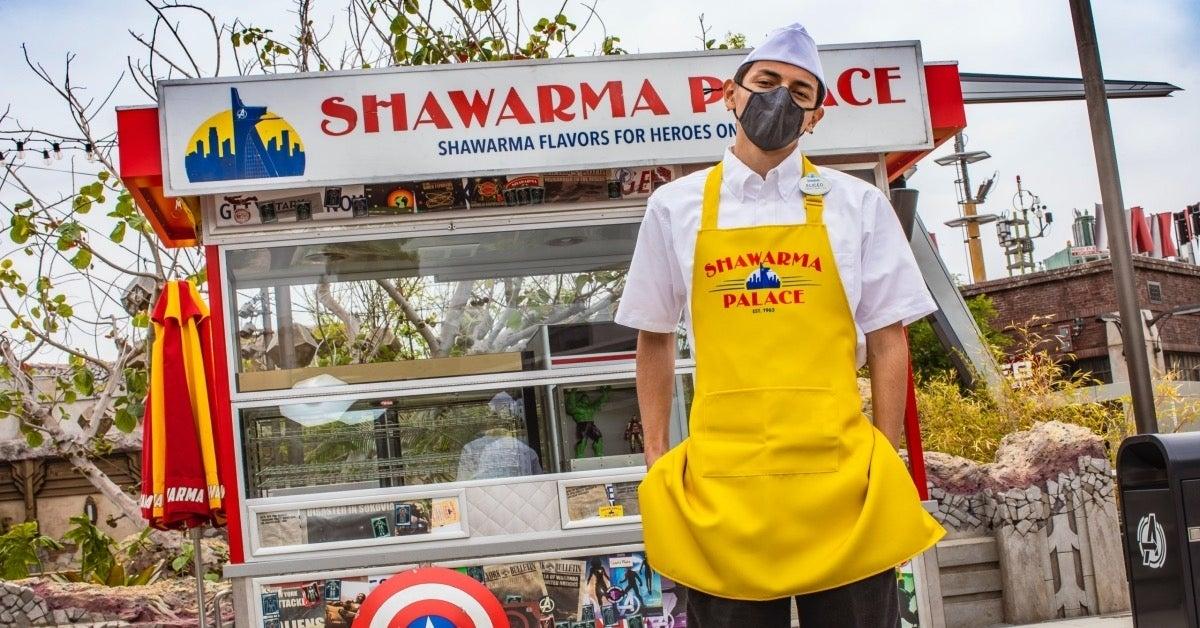 Avengers Campus Shawarma Palace