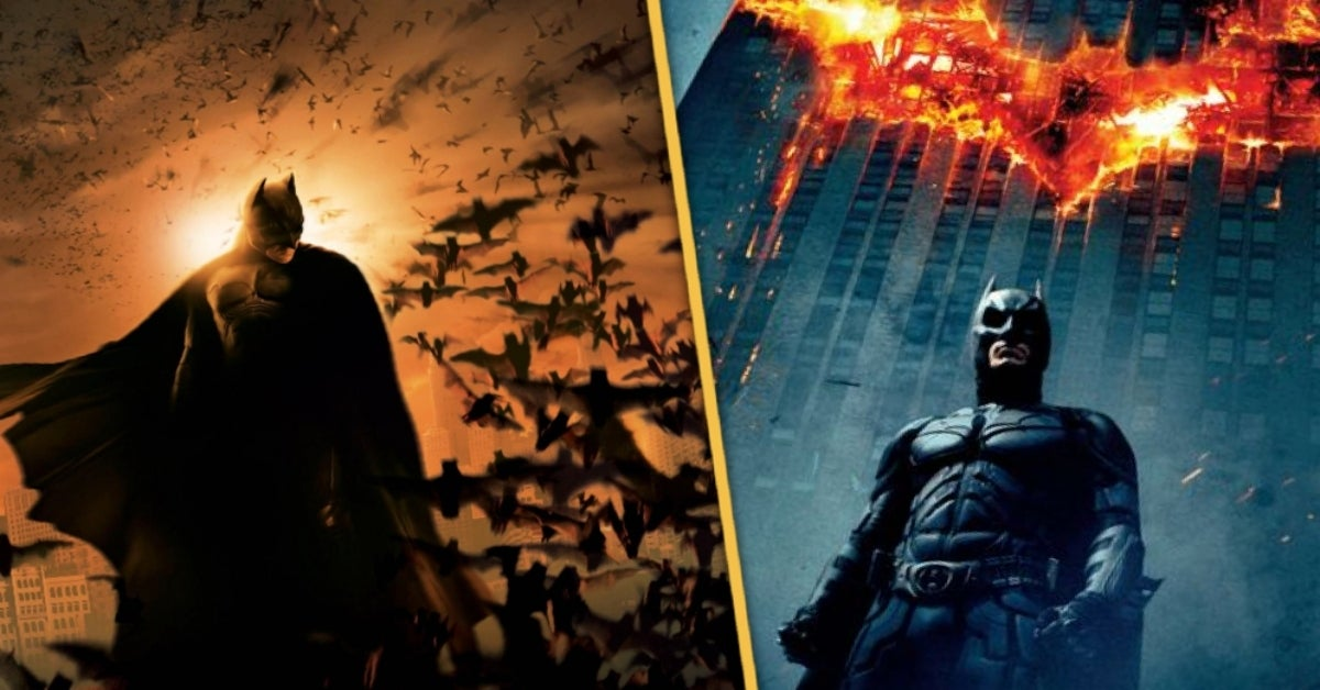 Batman Begins The Dark Knight trilogy
