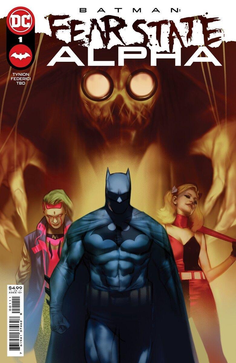 Batman Fear State Alpha 1