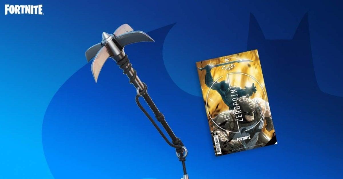 batman fortnite zero point catwoman grappling hook pickaxe