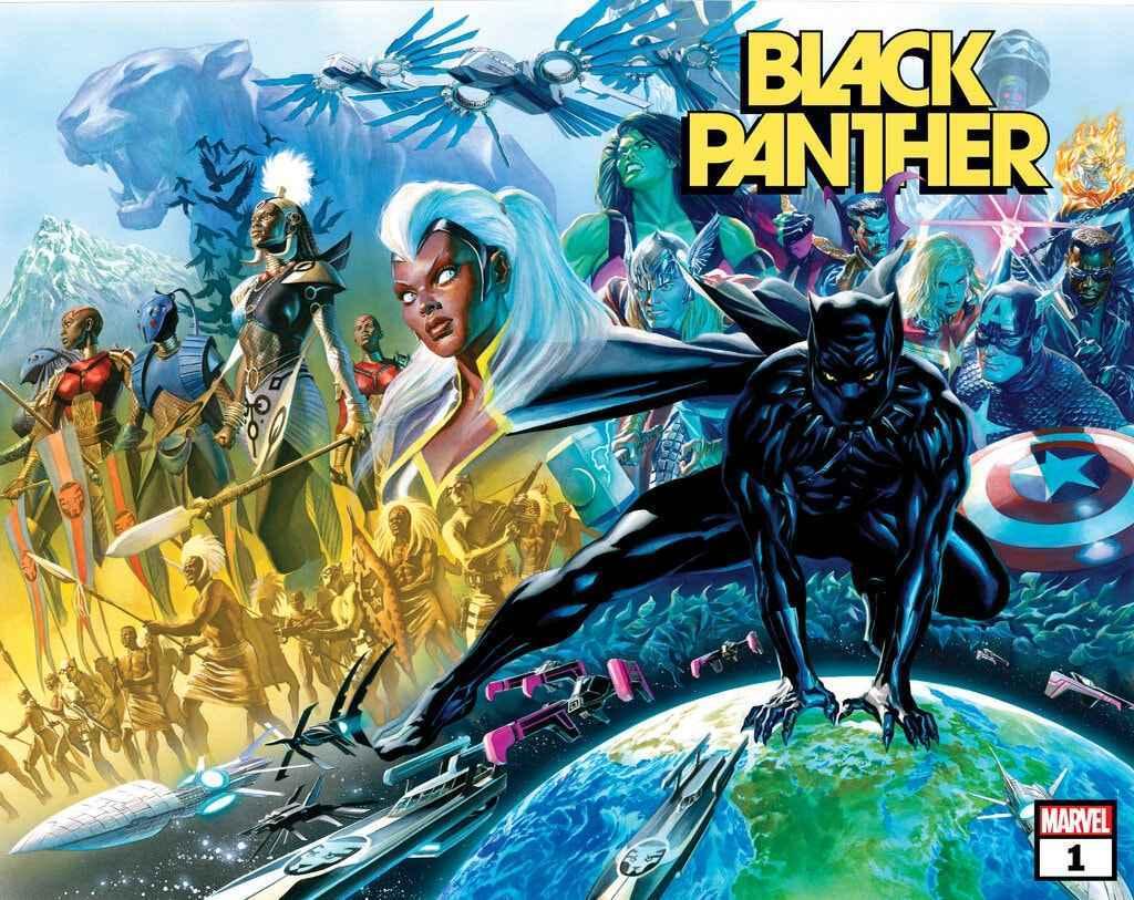 Black Panther 1 2021 Alex Ross