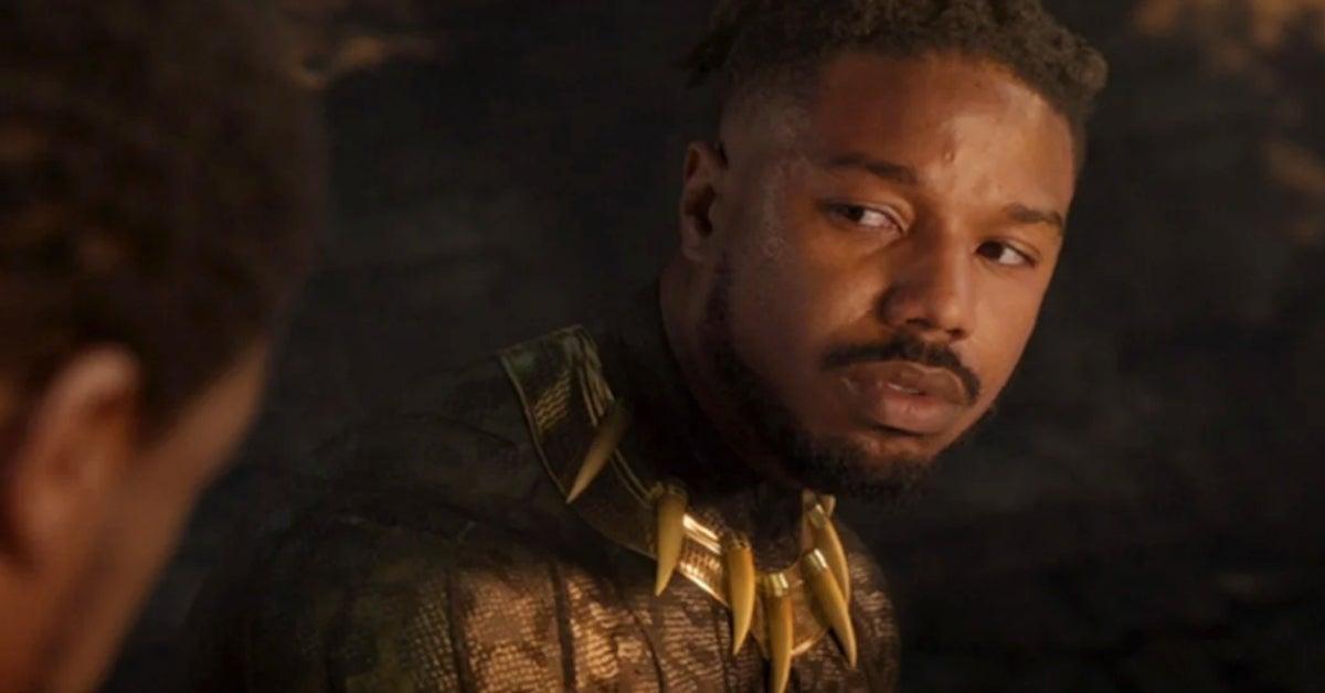 Black Panther Michael B Jordan Killmonger