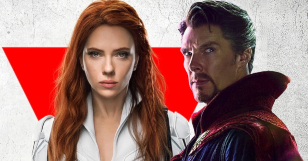 Black Widow Movie Doctor Strange 2 Supposed to Be In Theaters Today May 7 2021