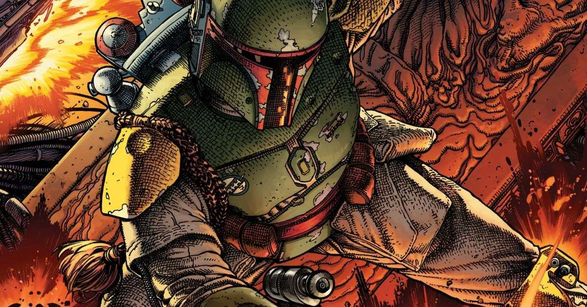 boba fett marvel comics war of the bounty hunters