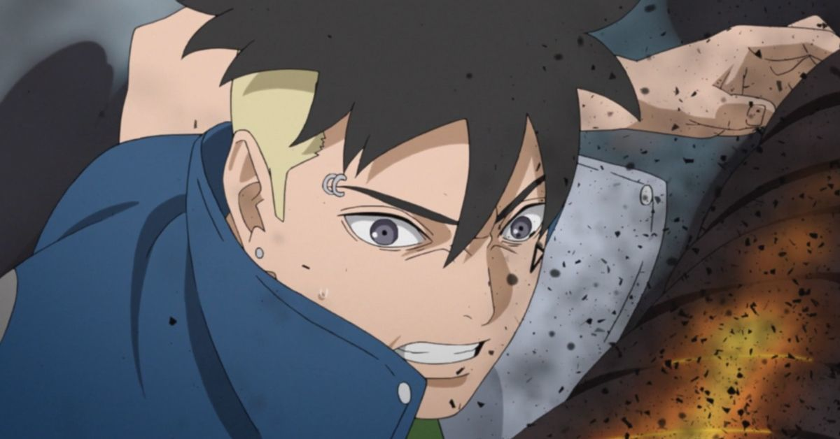 Boruto Kawaki Naruto Himawari Save Delta Anime