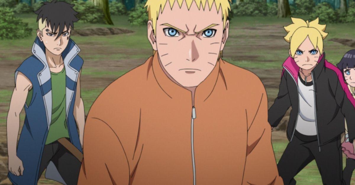 Boruto Naruto Delta Fight Kara Anime Cliffhanger