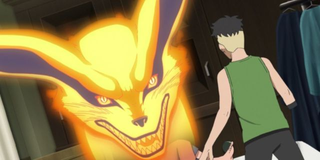 Boruto Naruto Kurama Kawaki Meeting Anime