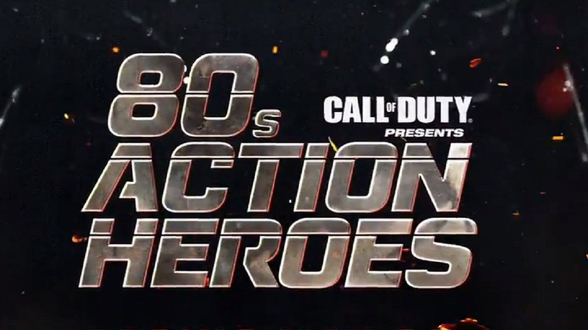 Call of Duty Die Hard 80s Action Heroes
