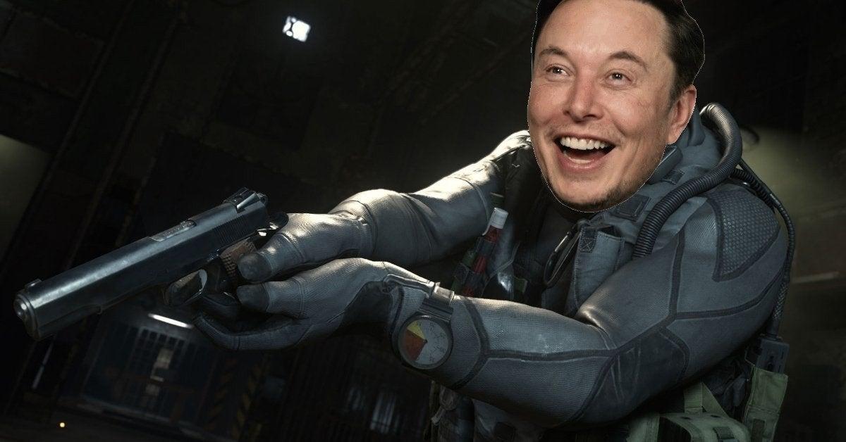 Call of Duty Elon Musk